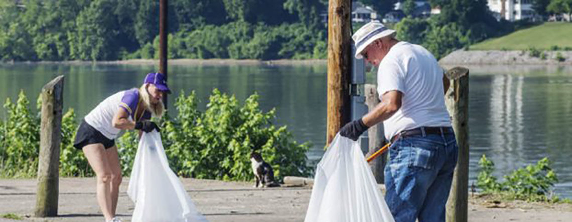 Ironton Tribune:  Ohio River Sweep a Success!